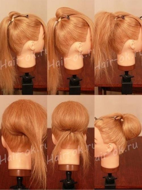 b6894ecd9c44 Мастер-класс по прическам на длинные волосы.