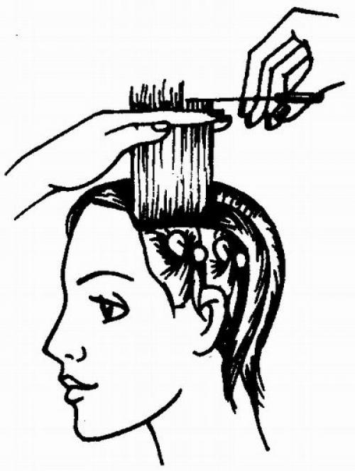 Стрижка одной длины. Женская стрижка для волос равной длины.