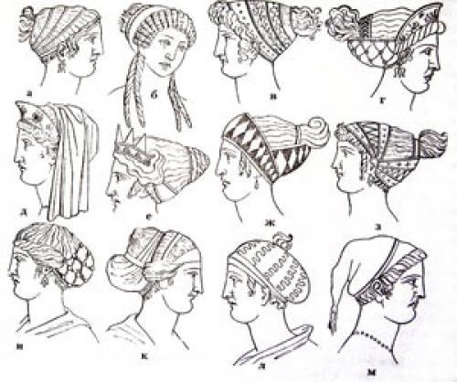 Прически древней Греции. Парикмахерское искусство древней Греции и древнего Рима.
