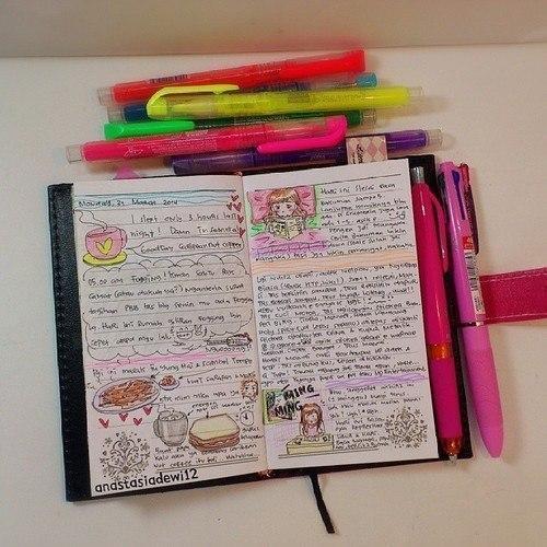 Как сделать из общей тетради личный дневник