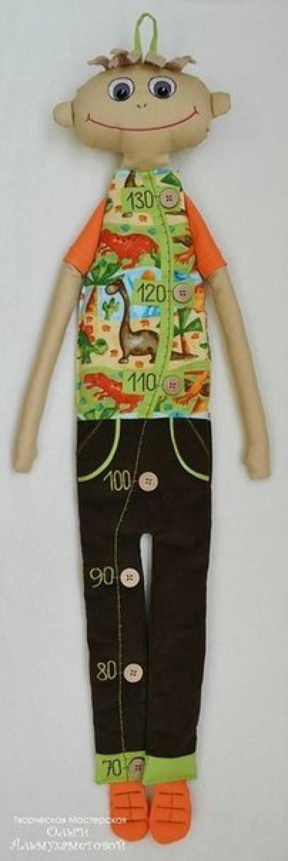 Кукла ростомер от ольги