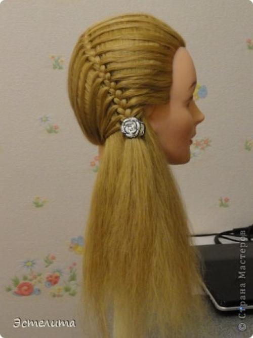 Прически на жидкие волосы своими руками фото