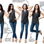 Язык жестов женщины.