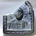 Каменная икона - образок.