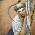 Традиционные славянские прически девушек и замужних женщин.