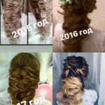 Пост о том, как менялась я и моя греческая причёска (это касается и многих других причёсок.