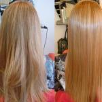 Маска с эффектом ламинирования волос?