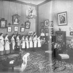 12 июня 1798 г. в Санкт-петербурге был учрежден институт святой Екатерины для благородных девиц.