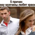 5 причин, почему мужчины любят красивых женщин!