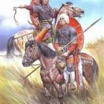 АК выглядели русы и славяне.