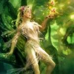 Жена - богиня.  Притча.