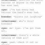 - Интервьюер: опишите самую ужасную стрижку, которая когда-либо была у кого-нибудь из участников.