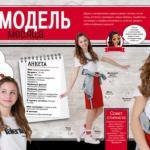 Модель Topsecretkids Даша мечтала попасть на страницы популярного журнала TOP Model.