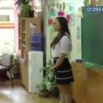 Узбекское тв раскритиковало учителей и учениц Ташкента за внешний вид и мини-юбки.