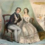 Этикет 19 века для девушки.