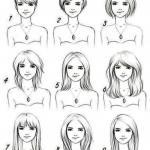 Как прическа лицо меняет.
