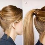 Повседневные прически для длинных волос.