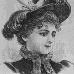 """Очаровательные дамские шляпки из журнала """"Вестник Моды"""" за 1895 год."""