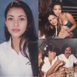 Ким кардашьян поделилась архивной фотографией своих молодых родителей.