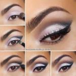 Урок шикарного вечернего макияжа.